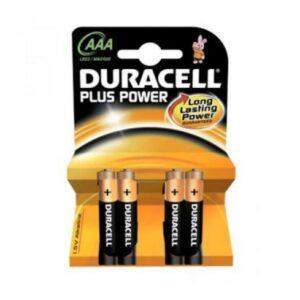 Pilhas Alcalinas DURACELL DURLR3P4B