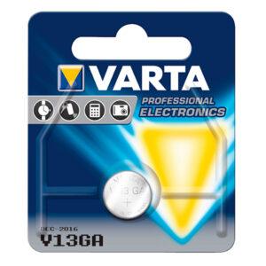 Pilhas de Botão Alcalinas Varta V13GA 1,5 V LR44
