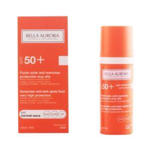 Fluido Solar Antimanchas Spf +50 Bella Aurora 3076