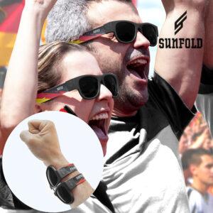 Óculos de Sol Enroláveis Sunfold Germany