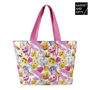 Saco de Praia Emoticons Fashion Gadget and Gifts