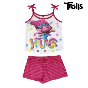 Pijama de Verão para Meninas Trolls 8 anos