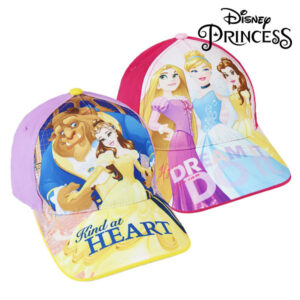 Boné Infantil Princesas Disney (53 cm) Roxo