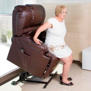 Poltrona de Repouso com Elevação e Massagem Cecotec 6014 - PORTES GRÁTIS