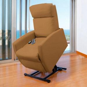 Poltrona Relax Massajadora Elevatória Cecotec Compact Camel 6006 - PORTES GRÁTIS