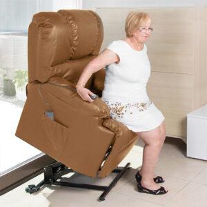 Poltrona Relax Elevatória com Massagem Cecotec Camel 6010 - PORTES GRÁTIS
