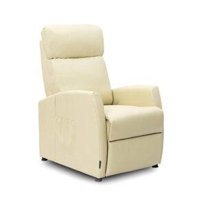 Poltrona de Massagens Bege Compact Push Back Cecotec 6181 - PORTES GRÁTIS