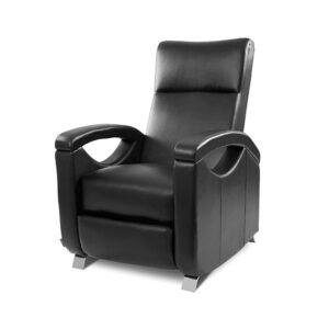 Poltrona de Relaxamento e Massagem Push Back Preta Cecotec 6025 - PORTES GRÁTIS