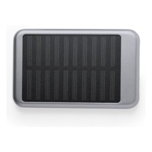 Power Bank Solar 4000 mAh 146307 Prateado