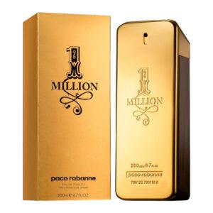 Perfume Homem 1 Million Paco Rabanne EDP 200 ml