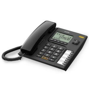 Telefone Fixo Alcatel Versatis T76 DECT LED Preto