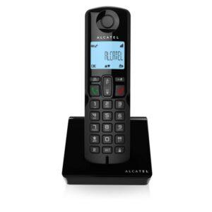 Telefone sem fios Alcatel S250 DECT Preto