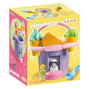 Conjunto de brinquedos de praia Sand - Ice Cream Shop Playmobil 9406