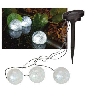 HI Iluminação LED solar flutuante para lagoa 9 cm - PORTES GRÁTIS