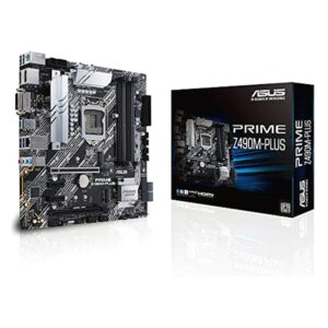 Placa Mãe Asus Prime Z490M-PLUS mATX DDR4 LGA1200