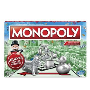 Jogo de Mesa Monopoly Barcelona Hasbro - Idioma Espanhol
