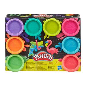 Jogo de Plasticina Playdoh Hasbro (8 pcs)