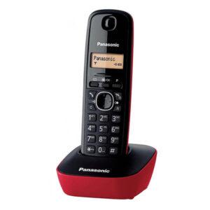 Telefone sem fios Panasonic KX-TG1611SPR Vermelho