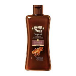 Óleo Bronzeador Coconut Hawaiian Tropic Spf 0 - 200 ml