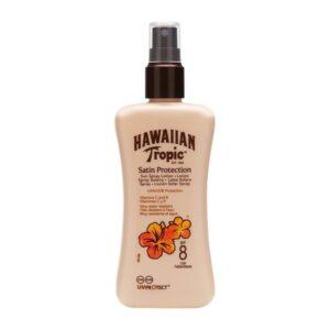 Loção Solar Satin Protective Hawaiian Tropic Spf 8 - 200 ml
