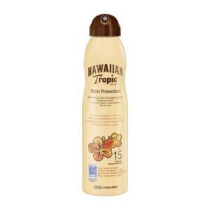 Bruma Solar Protetora Satin Protection Hawaiian Tropic Spf 15 - 220 ml