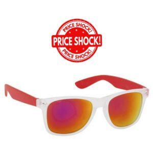 PRICE SHOCK! Óculos Sol Unissexo - Vermelho