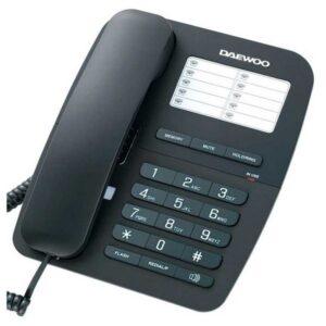 Telefone sem fios Daewoo DTC-240 Preto