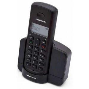 Telefone sem fios Daewoo DTD-1350 DECT DUO Preto