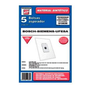 Bolsa Sobresselente para Aspirador Tecnhogar 915639 (5 uds)