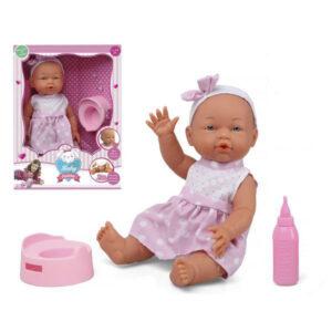 Boneco Bebé Cor de rosa (32 Cm)