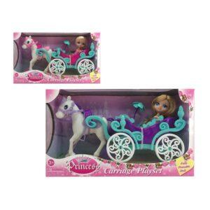 Boneca Princess Carriage 110784