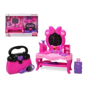 Conjunto de Cabeleieiro Infantil Dream Dresser Cor de rosa
