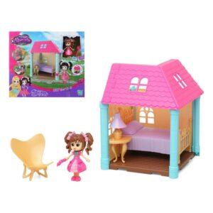 Casa de Bonecas Bedroom 112498 Cor de rosa