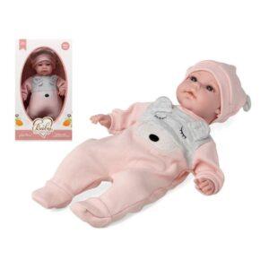 Boneco Bebé Lovely Bear Cor de rosa 115178