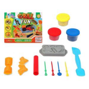 Jogo de Plasticina Grill Fun 117486