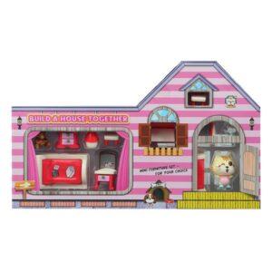 Acessórios para Casa de Bonecas Build Your Bedroom
