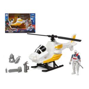 Helicóptero Rescue Team Branco