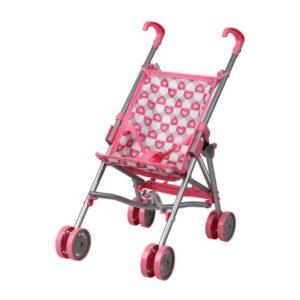 Carrinho para Bonecas Cor de rosa