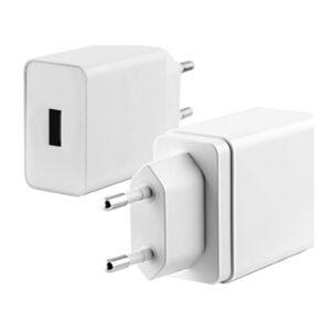 Carregador USB  Parede KSIX Quick Charge 3.0 Branco