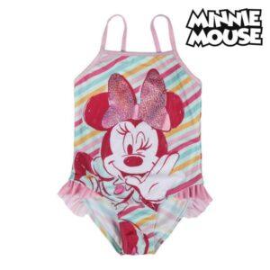 Fato de Banho Infantil Minnie Mouse 73782 - 5 anos