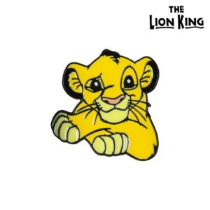 Pino The Lion King Metal Amarelo