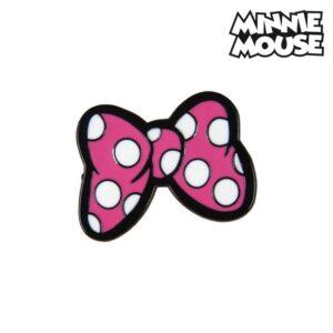 Pino Minnie Mouse Metal Cor de rosa