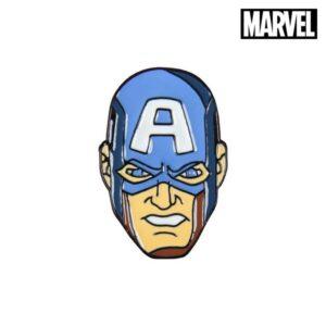 Pino Captain America The Avengers Metal Azul