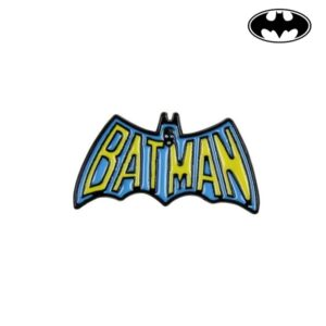 Pino Batman Metal Amarelo Azul
