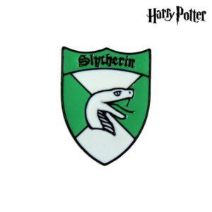 Pino Slytherin Harry Potter Metal Verde