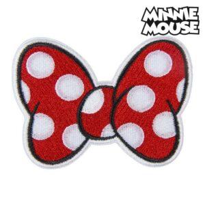 Adesivo Minnie Mouse Vermelho Poliéster