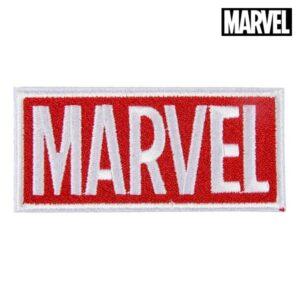Adesivo Marvel Branco Vermelho Poliéster