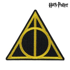 Adesivo Harry Potter Amarelo Preto Poliéster