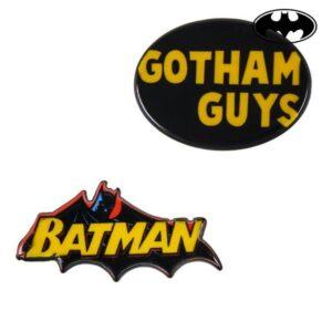 Fecho Batman Amarelo Preto