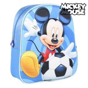 Mochila Infantil 3D Mickey Mouse Azul
